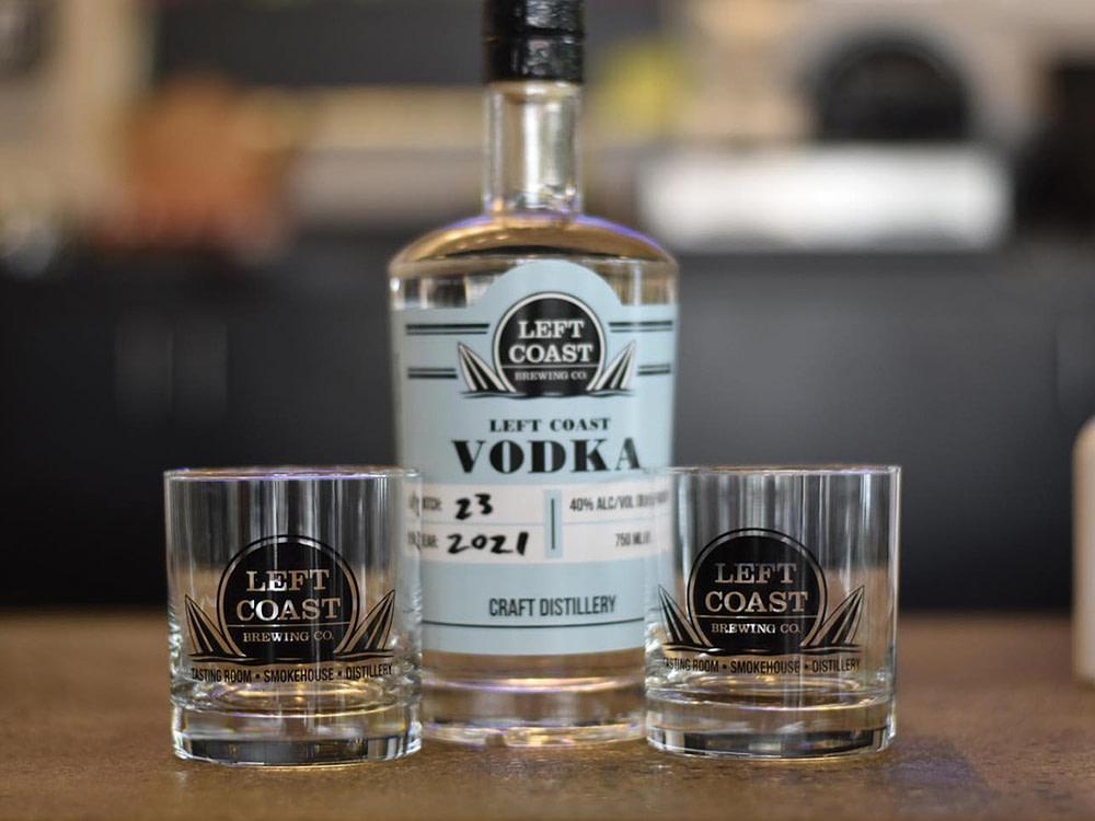 Left Coast Brewing Vodka